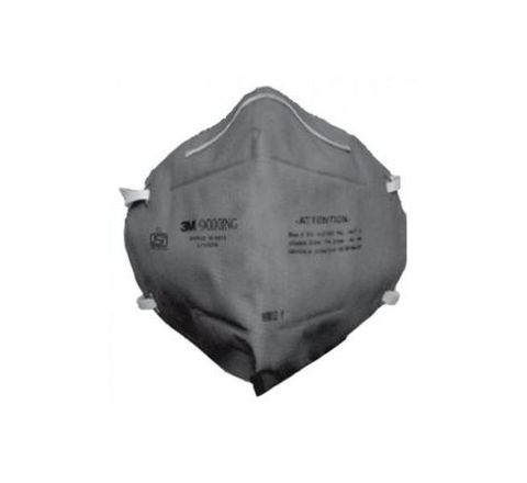 3M 9000ING Disposable Dust/Mist Respirator Grey PACK OF 100