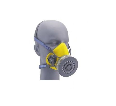 Venus V-500-7500-A1P1 Yellow Medium Half Mask Respirator