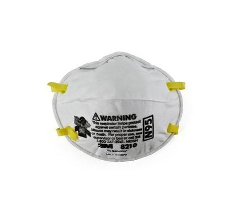 3M 8210 swine flu mask+ear plug Mask