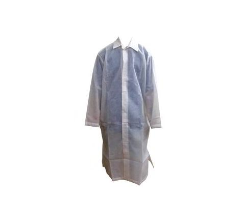 Sai Safety Non Women Disposable lab coat 50 GSM