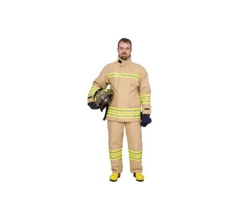 Ceasefire TI-000032K Fire Suit Gold Star