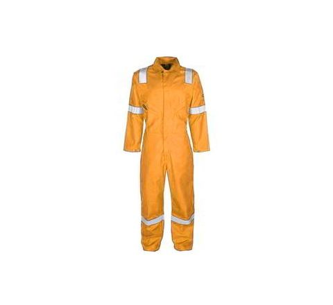 Galaxy Enterprise Orange Color Polyester Cotton Boiler Suit WM 009