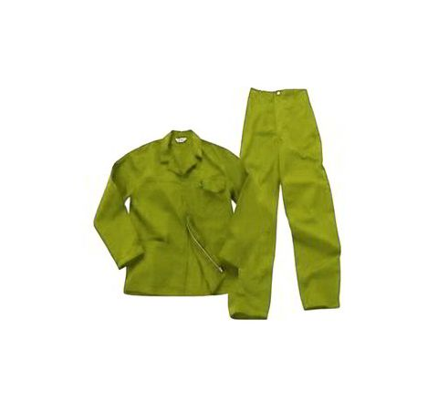 Galaxy Enterprise Yellow Color Polyester Cotton Jacket And Trouser WM 006