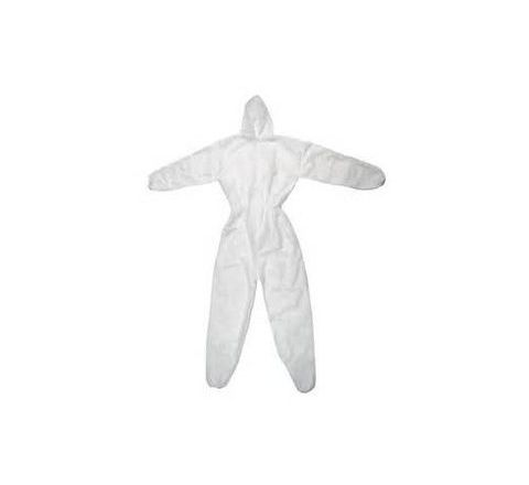 Sukai White Colour Boiler Suit With Hood 5300
