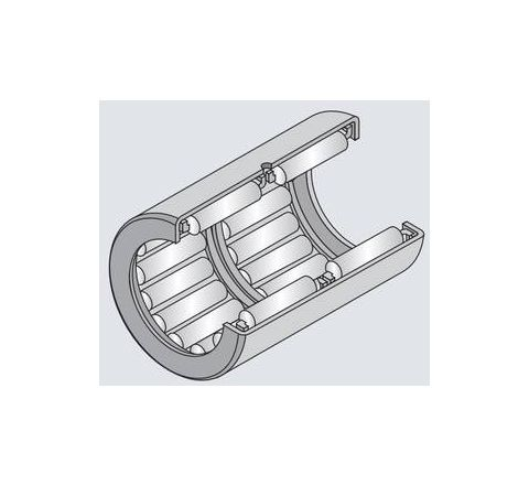 NTN HK1514L/3AS Drawn Cup Type Needle Roller Bearing (Inside Dia - 15mm, Outside Dia - 21mm) by NTN