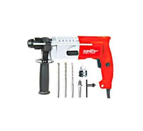 King KP-308 capacity 20 mm Speed 850 RPM Electric Rotary hammer by King