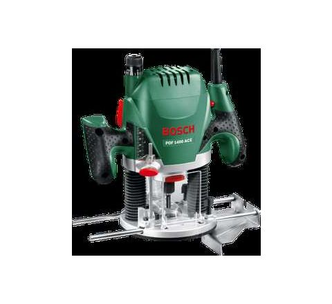 Bosch POF 1400 ACE 1400 W 11000-28000 RPM High Finish Router by Bosch