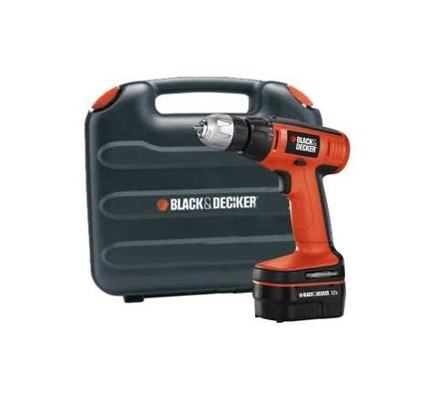 Black and Decker EPC12K2 750 RPM 5 kg Cordless Drill Driver by Black & Decker