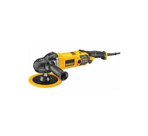 Dewalt DWP849X Right Angle Polisher 0 - 600 rpm / 0 - 3500 rpm by Dewalt