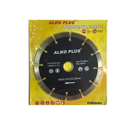 Alko Plus Silver 6 Inch Marble Cutting Blade SEG by Alko Plus