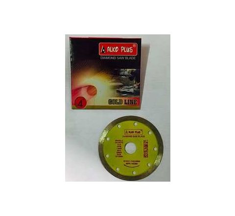 Alko Plus Gold 4 Inch Marble Cutting Blade 16 SEG by Alko Plus