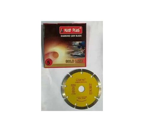 Alko Plus Gold 5 Inch Marble Cutting Blade SEG by Alko Plus