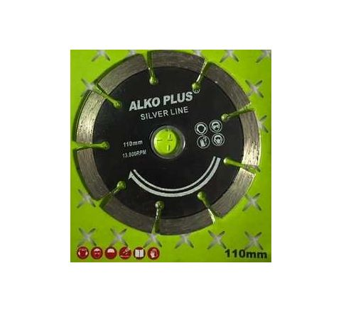 Alko Plus Silver 4 Inch Marble Cutting Blade 9 SEG by Alko Plus