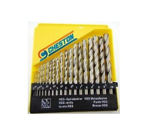 Cheston CHDB-19HSS Drill Bit Set by Cheston