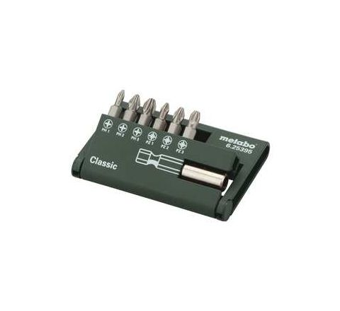 Metabo CUMIMETACC78 Bit-Box Classic (7 Pcs) by Metabo