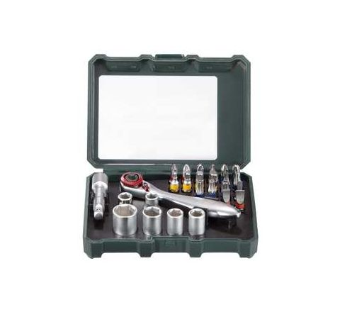 Metabo CUMIMETACC82 Bit-and Ratchet Assort SP(26 Pcs) by Metabo