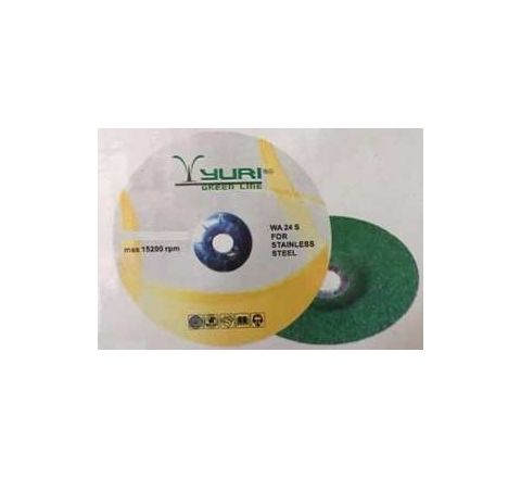 YURI Greenline Professional Grinding wheel 100 x 6.0 x 16 mm WA24 by YURI