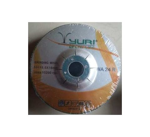 YURI WA 24R-4 Wheel Diameter 4 Inch Greenline DC Grinding Wheel by YURI