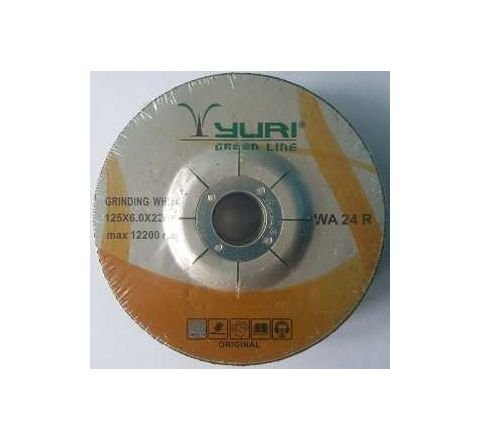 YURI WA 24R-5 Wheel Diameter 5 Inch Greenline DC Grinding Wheel by YURI