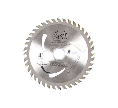 Turner TCT Saw Blade 4 Inch x 40T Pack of 10 Pcs by Turner