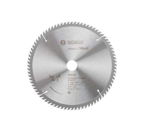 Bosch 60 Teeth Wood Expert Circular Saw Blade 2608-643-025 by Bosch