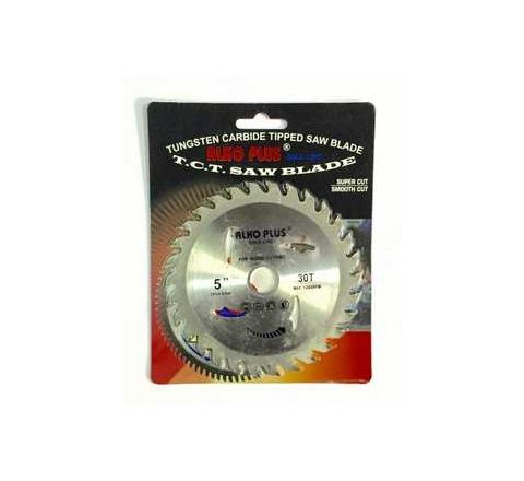 Alko Plus Gold TCT Saw Blade 5 Inch x 30T for Wood Cutting by Alko Plus