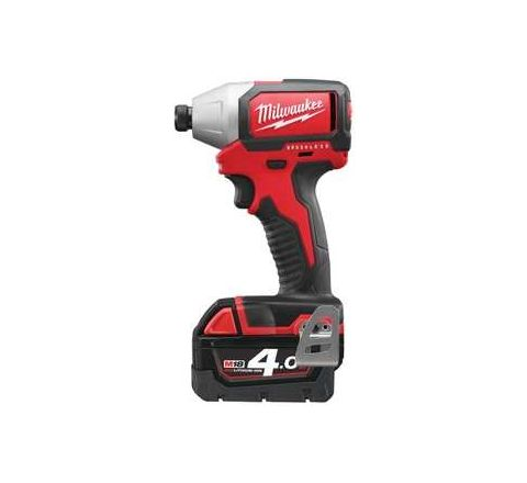 Milwaukee M18BLID-402C 0-2800 RPM Compact Brushless Impact Driver by Milwaukee