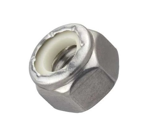 RAJ Stainless Steel Lock Nut (Dia 8 mm) Grade 304by Raj