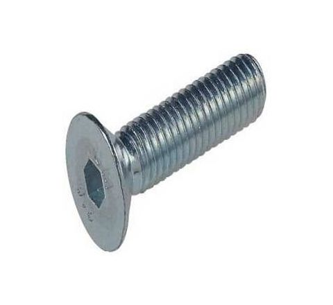 Agarwal Fastners Stainless Steel Allen CSK Screw (Dia 4 mm, Length 12 mm)by Agarwal Fastners