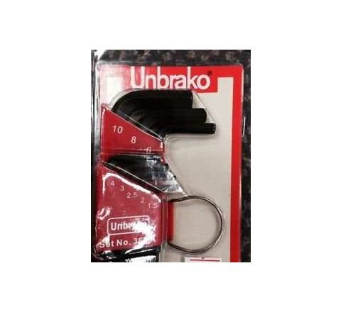 Unbrako 402616 Metric Series Hex Wrench Setby Unbrako
