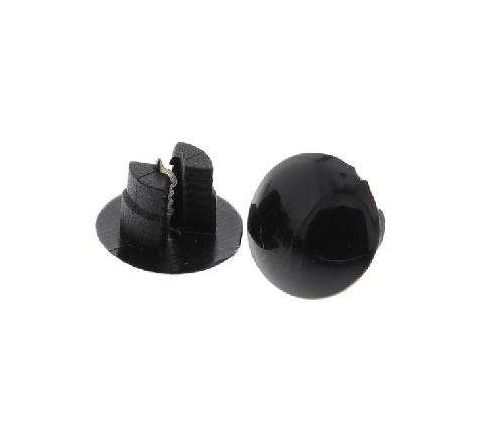 RS Pro 5.7 - 8.7 mm Material Thickness Black Plain Nylon Snap Rivetby RS Pro