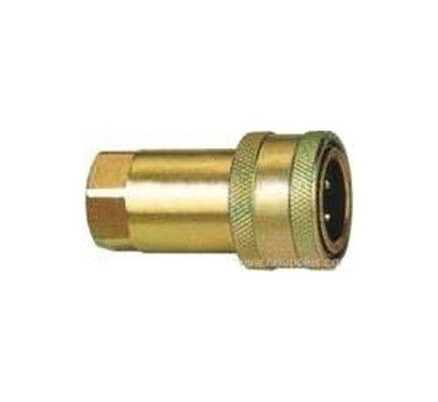 "Tirupati SHQ1-04SF 1/2"" Female Hydraulic Quick Coupler by Tirupati"