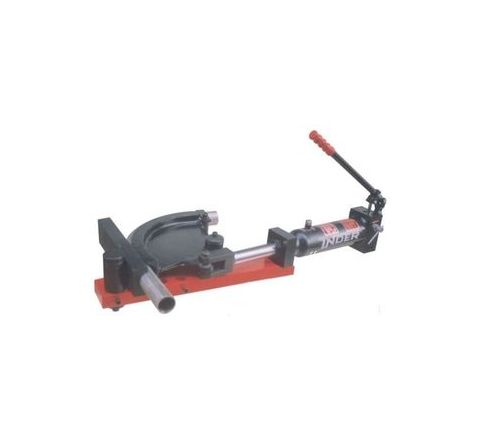 Inder Hydraulic Pipe Bender with Open Frame Metric formers P-217A by Inder