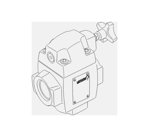EATON CT5-100A-C-M-U1-D-40-IN-INB Industrial Balance Piston Type Relief Valve by EATON