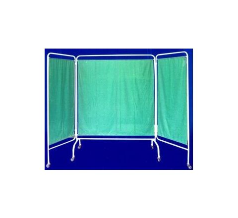 Surgitech White 4 Pannel Bed Side Screen SI-149 by Surgitech