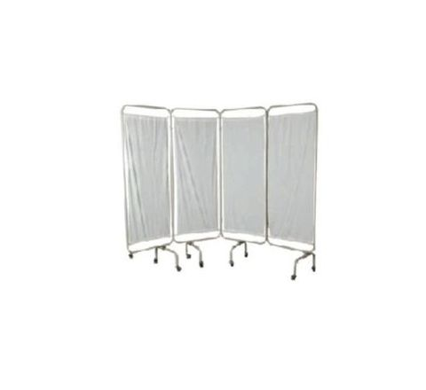 SHC White 4 Pannel Bed Side Screen AKE 126 by SHC