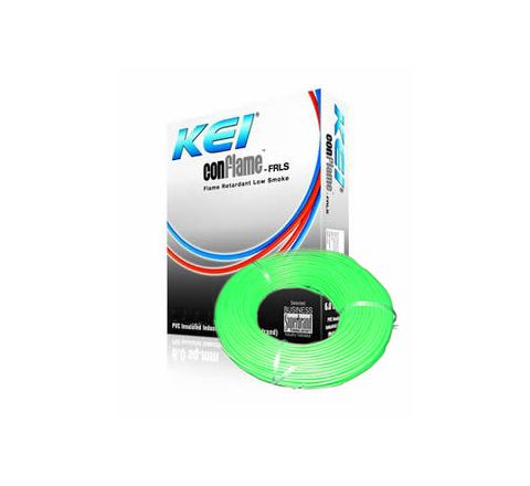 Kei Flame Retardant Low Smoke Halogen Cable Green 90 m 1.5 Sq. mm