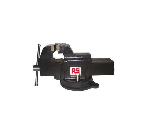RS Pro 75 x 152.39 x 100 mm size Bench Vice 507-9455by RS Pro