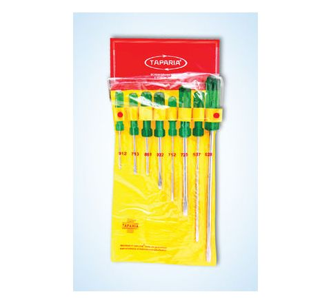 Taparia Screw Driver Kits with Hanging Pouch 8 Pcs. 1013by Taparia