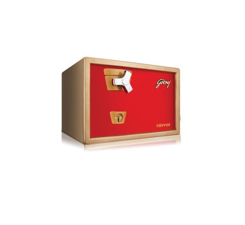 Godrej Brown and Red Safe - Premium Coffer V1 Red