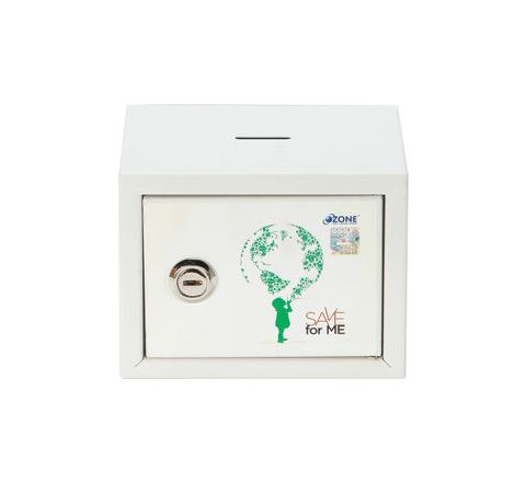 Ozone Money Bank OES-MB-11 White