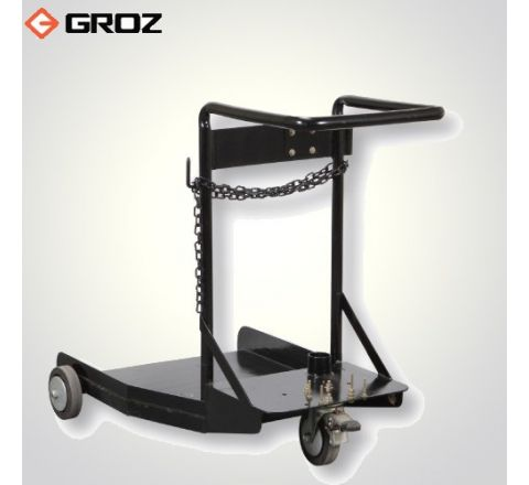 Groz 181 kg/205 litre Trolley For Portable Oil / Grease Systems TRL/210_le_dh_005