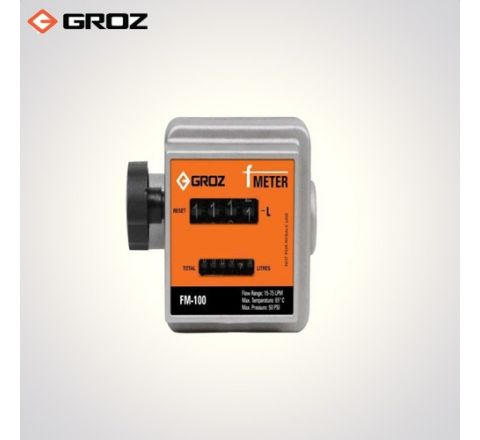 Groz 3/4 BSP F  High Accuracy Mechanical Fuel Meter FM 100/3 4/BSP_le_fe_018