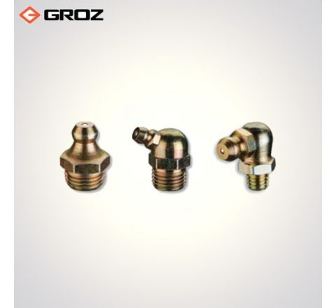 Groz 6.0 X 1.0 mm Taper Thread Grease Fittings  GFT/6/1/90_le_ge_010