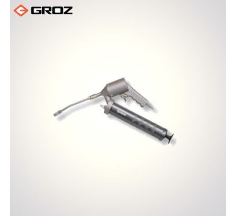 Groz 150 mm Steel Extension Continuous Air Operated Grease Gun AGG/1R/B_le_ge_057