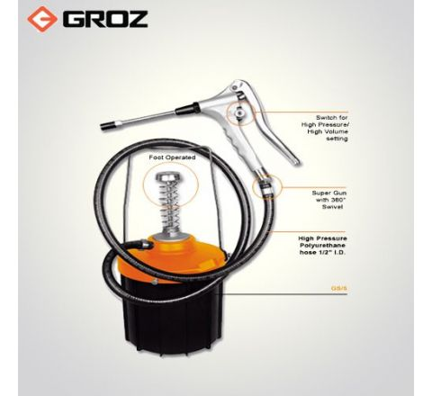 Groz 5 Kg Portable Greasing System GS/5_le_ge_070