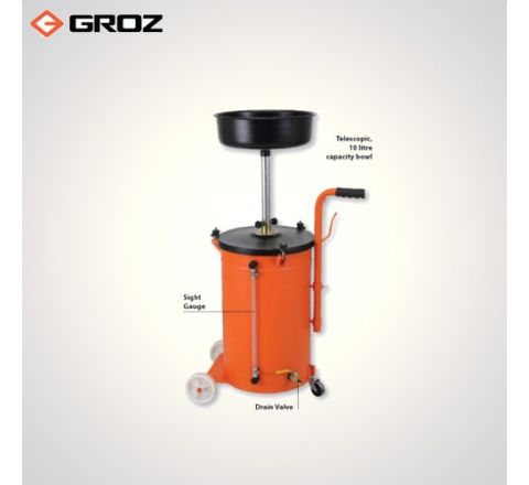 Groz 50 Ltr. Waste Oil Drain  Gravity Feed WOD/50G_le_woh_003